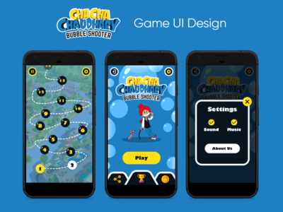 Chacha Chaudhary - Game UI Design