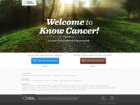 knowcancer.com redesign