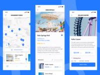 Amusement Park app concept