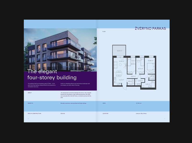 Galio editorial horizon layout construction real estate real realestate plan editorial galio