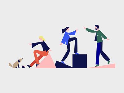 Delfi illustration graphicdesign portal news illustration design identity brand branding
