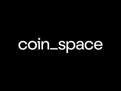 Coinspace brandidentity design crypto wordmark illustration icon logotype identity brand logo branding