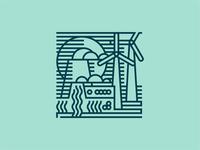 Klaipeda Illustrations — Energetics