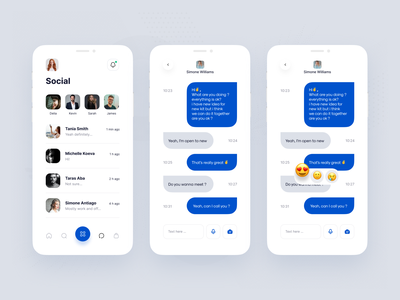 Daily UI - Direct Messanging chat messaging message vector mobile icon button daily ui dailyui design app ux ui
