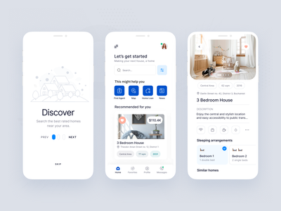 Daily UI - Categories real estate categories minimal mobile vector daily ui dailyui icon app design ux ui