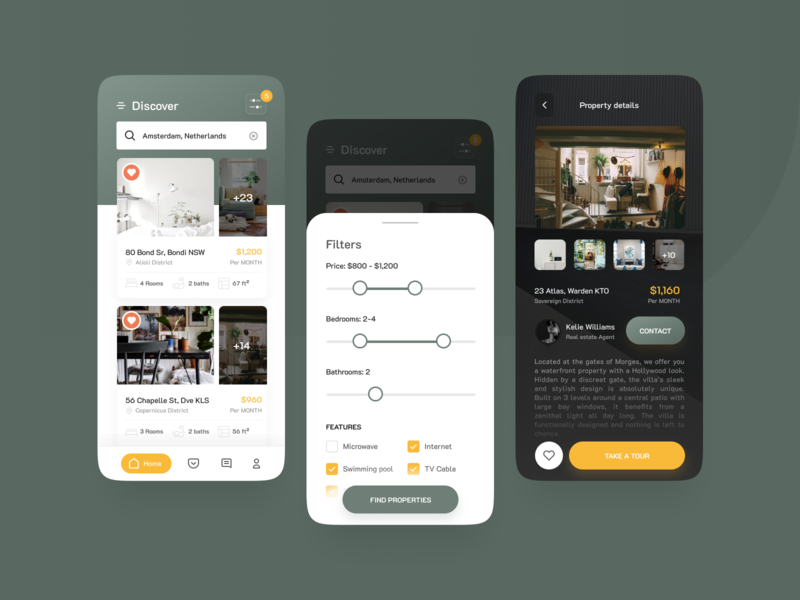 Sovereign - Home Finder App search home typogaphy real estate icon vector design app mobile ux ui