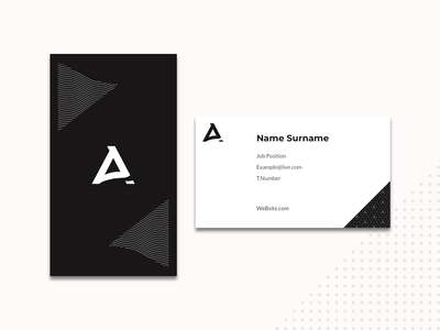 Business Card business card card design typography