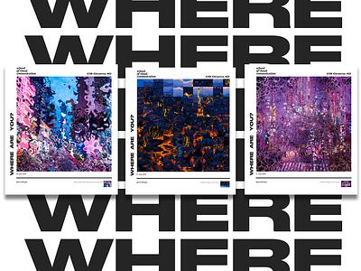 WHEREAREYOU postcards postcard poster art artwork cinema 4d cinema4d c4d graphicdesign