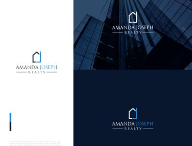 Free Logo Design Download for Property, Real Estate, Home estate real rental home flat property design logo download free