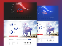 Horse breeders / trainers Landing Page
