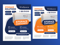 Storage Containers Flyer / Ad