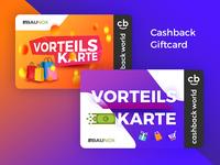 Cashback / Giftcard Design