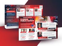 Political Postcard / Voter Guide