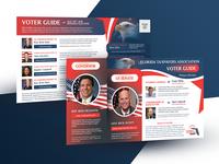 Political Postcard / Voter Guide 2