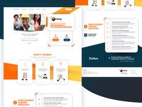Job Seeker Marketing Homepage / Landing