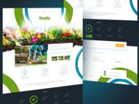 Landscape Design Company - Landing Page