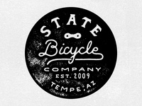 State Bicycle Stamp