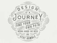 Design is a Journey