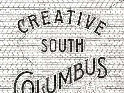 Creative South Mosaic seed packaging vintage creative south type tile mosaic lettering