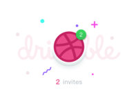 [Closed] 2 Dribbble invites giveaway!