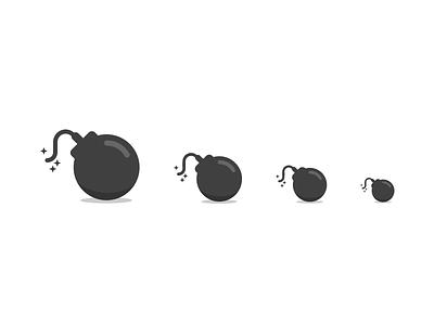 Keybase Bomb icon exploding messages bomb keybase