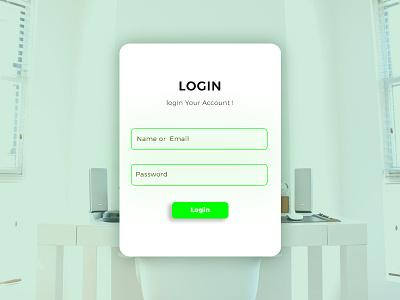 Login Form design download mockup development web design photoshop graphic design form login