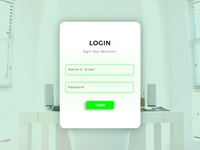 Login Form design