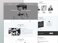 BBusiness - Onepage Business Landing Template