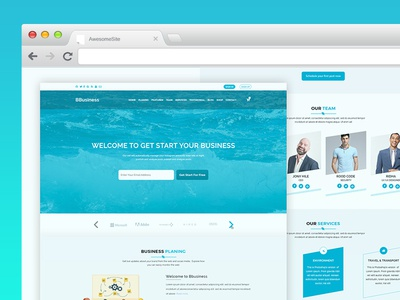 BBusiness - Onepage Business Landing Page Template