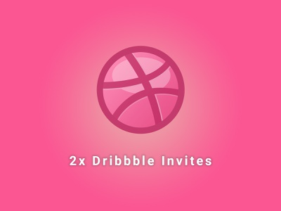 2x Dribbble Invites Available creative graphic modern design minimal agency business photoshop company dribbble invite dribbble invite2 invision landing page portfolio illustration