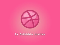 2x Dribbble Invites Available