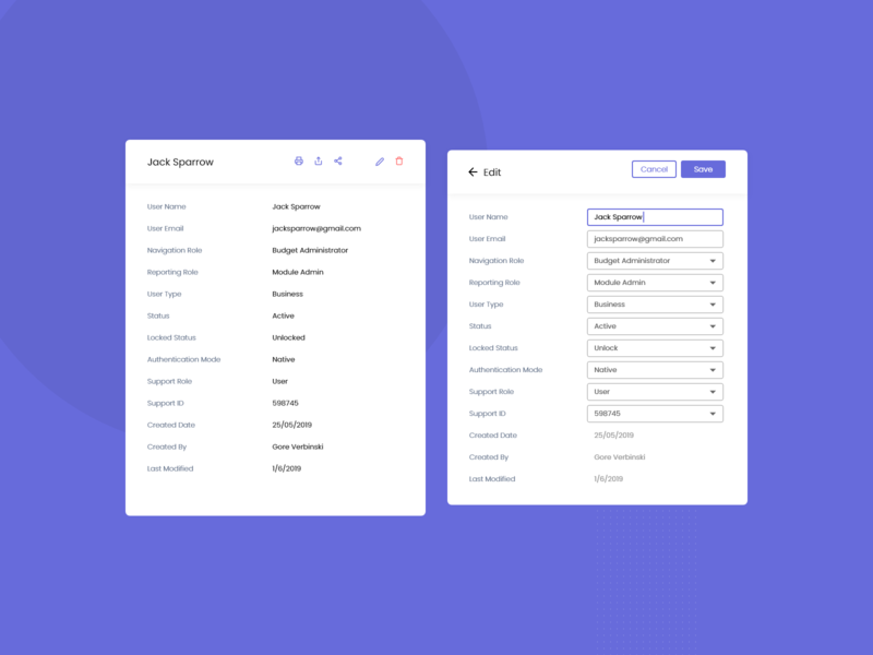 taut - user management app logo idea typography colors filter buttons tabs data table icons alert pop up edit user add user dashboard user management web application trending ui ux ui