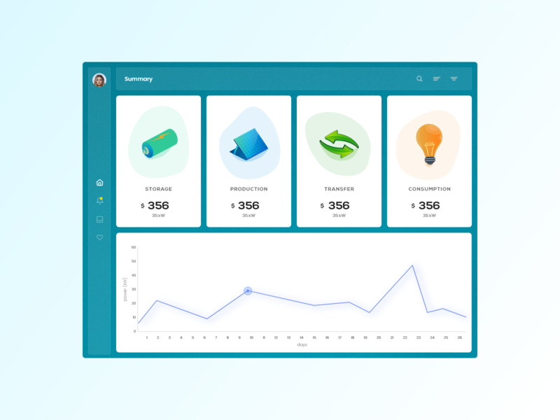 Summary trending ui icons android mobile buttons graphic template web design ux ui