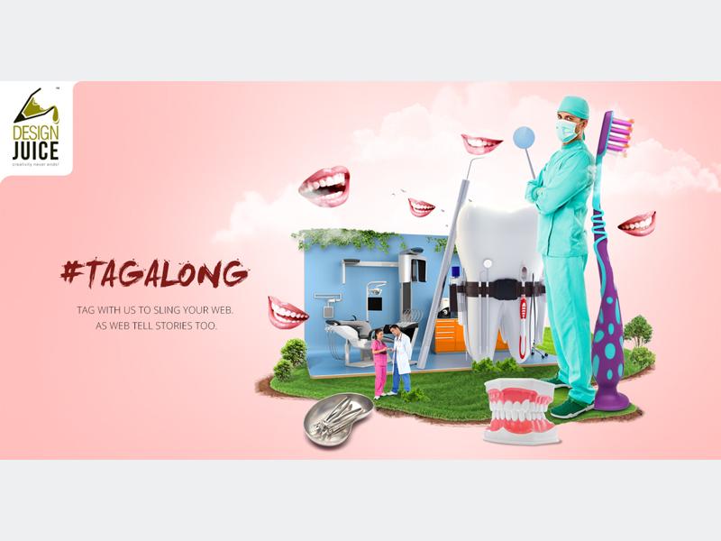 Campaign Design dental service seo image manipulation retouching social meda campaign