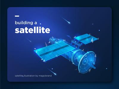Satellite   Vector