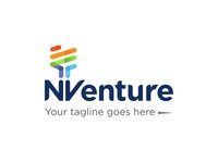NVenture Logo Design