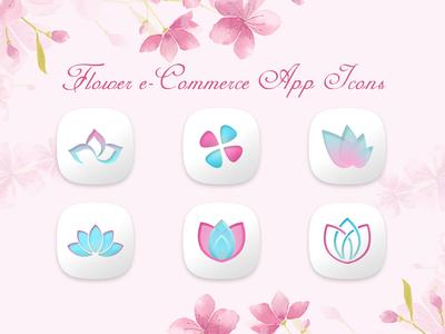 Petal Themed App Icons