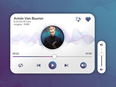 Music App Widget