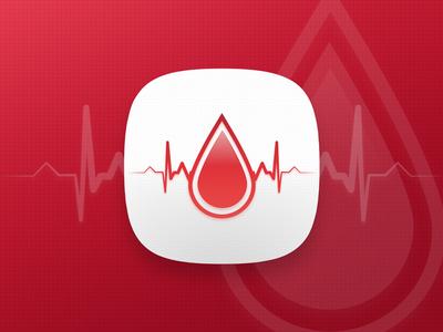Blood Donation App Icon