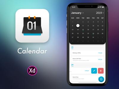 Calendar UI and App Icon