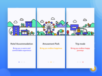 Travel APP Guide Pages