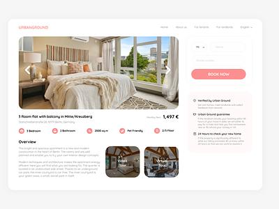 Property details figmadesign website illustration web ux ui design