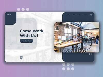 Career landing page job careers careers page landing page design figma design figma minimal design website web ux ui figmadesign