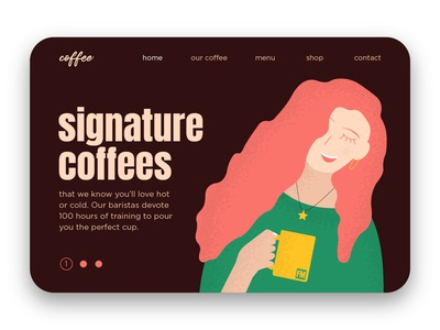 Coffee Landing Page