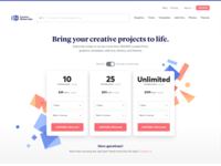 Creative Market Pro - Pricing Page