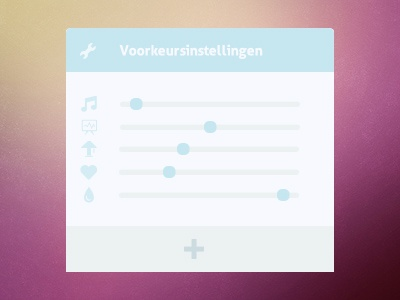 Dribbble Debut ui simple clean debut