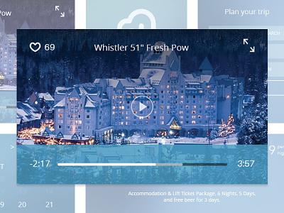 Whistler blackcomb UI Kit