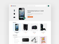 Insale - Homepage design