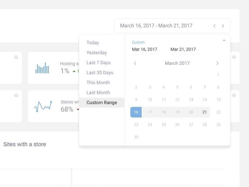 Dashboard management portal icon design tracker list ux calendar dashboard ui