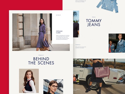Tommy global redesign